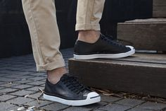 hypedc:  Converse Jack Purcell Low 'Tumbled Leather' now available.