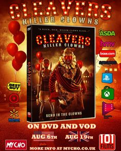 It The Clown Movie, Dv A, Send In The Clowns, Film Review, Mj, Cool Things To Buy, Indie, Horror, Cool Stuff To Buy