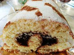 Brazo de gitano de chocolate sin gluten, sin trigo, sin lactosa, sin leche ( apto aplv ) y sin soja.