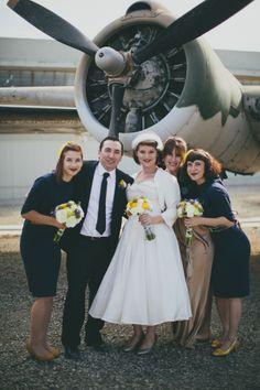 A Jet Set Soiree | Etsy Weddings Blog - This wedding is darling!!!