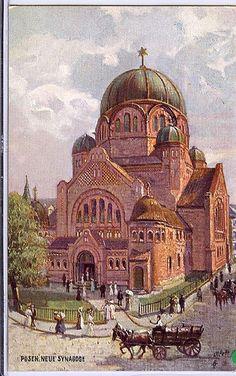 Posen, poland - Synagogue