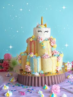 Unicornkakku - Unicorn Cake