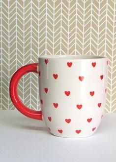 lil' heart mug
