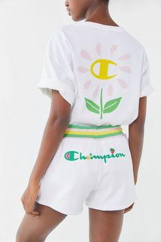 58c4cb1688a34d Champion X Susan Alexandra UO Exclusive Reverse Weave Logo Short