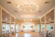 Such a breathtaking wedding reception venue for this summer wedding.