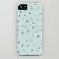 pattern, cute, Dalahäst, canotier, cute things, shop  http://society6.com/tresoret/Favourite-things-Fzp_iPhone-Case
