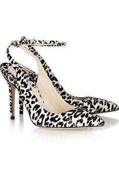 Brian Atwood leopard print pumps