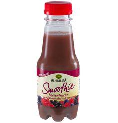 Mixer nicht zur Hand? Dann nimm doch einen der leckeren fertigen #Alnatura #Smoothie Beerenfrucht