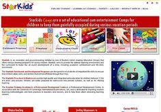 www.starkids.in - website of a playschool. Designed and developed by Echo (www.ieecho.com)
