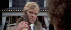 """Katie (Barbra Streisand): """"Your girI is IoveIy, HubbeII. Bring her for a drink when you come."""" // Hubbell (Robert Redford): """"I can't come, Katie. I can't."""" // Katie: """"I know."""" -- from The Way We Were (1973) directed by Sydney Pollack"""