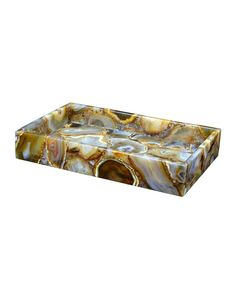 Taj Agate Vanity Tray, Agate (Natural) - Mike & Ally