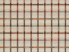 Love her style.  Hella Jongerius's Inlay Textile Series for Maharam