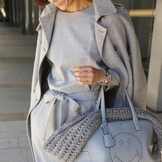 #outfit all-in-one & all gray by yoshikotomioka