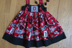 Toddlers and Girls want fun Buckeye Clothes too! Hurry - football season is right around the corner!
