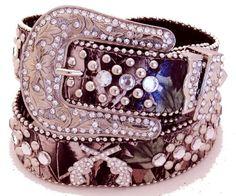 TOPSELLER! Western Genuine Leather Cowgirl Belt... $33.00
