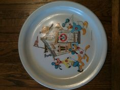 Mickey Mouse club plate