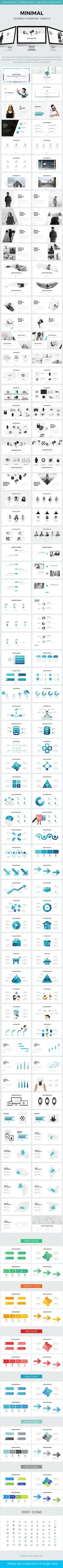 Minimal Business Powerpoint Template — Powerpoint PPTX #multipurpose #analysis • Download ➝ https://graphicriver.net/item/minimal-business-powerpoint-template/19894101?ref=pxcr