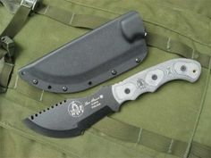 Tops Knives Tom Brown Tracker. Great and versatile knife design featured in an incredibly crappy movie, The Hunted.