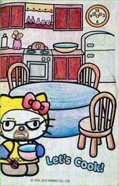 Breaking Bad. Hello Kitty. Let's Cook! Meth.