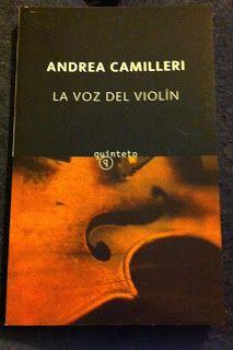 LO QUE LEO: LA VOZ DEL VIOLÍN (ANDREA CAMILLERI)