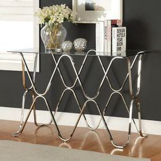 online shopping for Furniture America Mirella Contemporary Sofa Table, Chrome from top store. See new offer for Furniture America Mirella Contemporary Sofa Table, Chrome Entryway Furniture, Table Furniture, Living Room Furniture, Metal Furniture, Cheap Furniture, Discount Furniture, Kitchen Furniture, Wholesale Furniture, Furniture Websites
