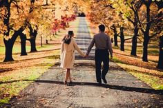 Fall in the Hudson River Valley | Engagement Shoot