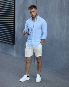 Summer Outfits Men, Stylish Mens Outfits, Casual Outfits, Style Casual, Men Casual, Swag Style, Online Clothing Sites, Big Men Fashion, Big Mens Summer Fashion