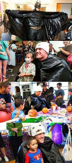Texans' J.J. Watt Surprised Kids in a Hospital as Batman