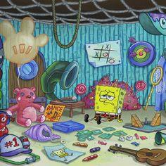 Spongebob Pics, Spongebob Drawings, Cartoon Memes, Cartoon Icons, Cartoons, Vintage Cartoon, Cute Cartoon, Spongebob Painting, Emoji Combinations
