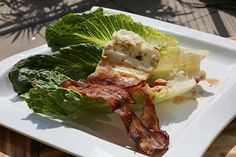Extra Cheesy BBQ -  Gilled Food: Romaine Lettuce Cheese Pairing: Grilled Halloumi Cheese
