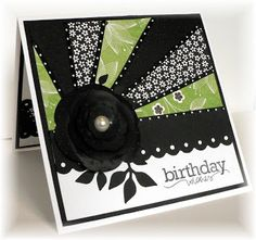 Lil Bit Of Me: Starburst Cards Card Making Inspiration, Card Sketches, Card Tags, Paper Cards, Creative Cards, Cool Cards, Flower Cards, Greeting Cards Handmade, Scrapbook Cards