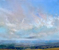 high weald ~ acrylic ~ by lorna holdcroft
