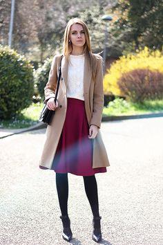 MIDI SKIRT | Women's Look | ASOS Fashion Finder