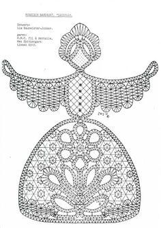 . Bobbin Lace Patterns, Doll Patterns, Fabric Stiffener, Lacemaking, Lace Heart, Thread Art, Theme Noel, Lace Jewelry, Needle Lace