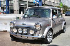 199x Austin Mini Cooper - silver - fvl2 by Rex Gray, via Flickr