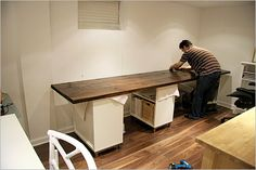Decorating , 10 DIY Desk with Amazing Design : Make Your Own Desk6
