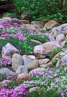 Fabulous Front Yard Rock Garden Ideas (27)