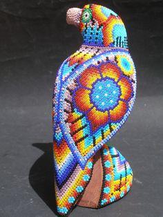 Huichol Beaded Bird