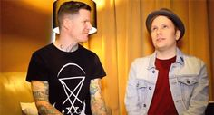 Andy Hurley and Patrick Stump