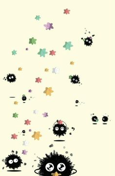 Soot sprites - Ghibli Fan Art