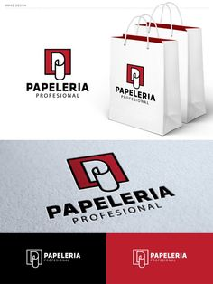 We want a logo for a company trading office supplies and stationery. by Shorttox Brand Identity Pack, Trading Company, Custom Logos, Logo Branding, Stationery, Office Supplies, Paper, Design, Paper Mill