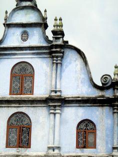 16th Century Portuguese Church, Kochi, India.
