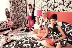 kate spade - no such thing as too much pattern
