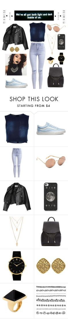 """""""Something so special, something so real. Tell me boy, how in the f*ck would you feel? If you couldn't get me back. That's what I wish that I could do to you, you.."""" by shaimae ❤ liked on Polyvore featuring River Island, Vans, New Look, Victoria Beckham, Acne Studios, Forever 21, rag & bone, Larsson & Jennings, Susan Caplan Vintage and Kenneth Jay Lane"""