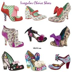 Irregular Choice Shoes 2013 Spring Summer Collection