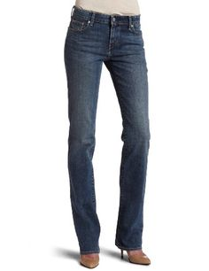 bbef3997dff Levi's Misses Classic Demi Curve ID Straight Jean, Rocking Blue - Huge  discounts on orig Levi jeans