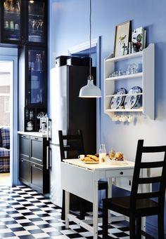 STENSTORP bordenrek | #IKEA #borden #keuken #interieur #landelijk