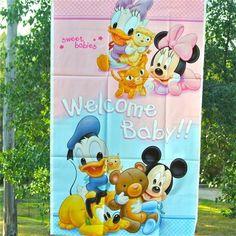 Banner Baby Mickey - Artículos de Fiesta