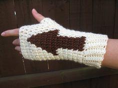 Appa the Flying Bison mitts, Avatar Last Airbender, handmade crochet