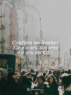 confiem no Senhor, Ele é o seu socorro e o seu escudo. - salmos 115:11 twitter: https://twitter.com/maisoverflow facebook: https://www.facebook.com/maisoverflow instagram:...